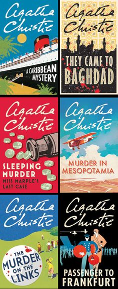 Agatha Christie. The most quaint stories about murder and disturbing mayhem that I've ever read. <3