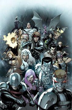 X-Men - by Leinil Yu | #comics  Auction your comics on http://www.comicbazaar.co.uk