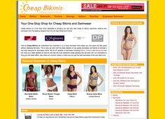 Cheap Bikinis brings together the best in swimwear and beachwear onto one easy to use site with regular voucher codes and discounts to make shopping with us even better value for money.