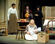 """""""The Miracle Worker"""" is a three-act play by William Gibson. Contemporary Plays, The Miracle Worker, Anne Sullivan, William Gibson, Movie Gifs, Deaf Culture, Helen Keller, Vernon, Set Design"""