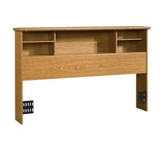 Sauder Orchard Hills Bookcase Headboard - Carolina Oak (full/queen)