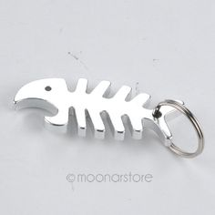 Featured product of the day: Stylish Fish Bone.... Catch one for yourself here: http://fishingmind.com/products/stylish-fish-bone-beer-bottle-opener-keychain?utm_campaign=social_autopilot&utm_source=pin&utm_medium=pin