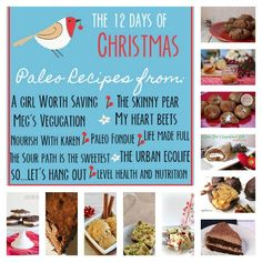 On the 12th Day of Christmas, my True Love gave to me...12 Paleo Treat Recipes! Check out this awesome round up of the Paleo 12 Days of Christmas!