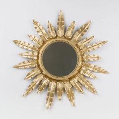 Espejo sol redondo | Antic&Chic