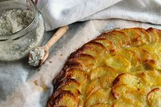 Potato cake - Emilie and Lea's Secrets - one person commented that they use duck fat and garlic to make these - yum!!!