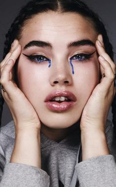 Isamaya Ffrench's avant garde-beauty looks