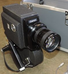 RARE News 16mm Camera Canon Sound Scoopic-200 & Canon Recording Amplifier CRA-2 #Canon