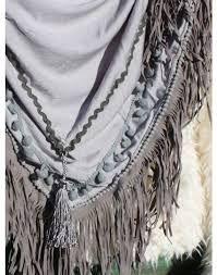 Afbeeldingsresultaat voor sjaal franje