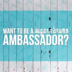 Have you meet our current Ambassadors? Anna, Maggie & Sanjana    Want to be like them? Here is how to apply:      CONTEST DATES February 2nd, 2016 - February 29th, 2016 Winners Announced March 3rd, 2016    We are on the look out for a few new special people to represent our amazing brand! We are setting up our program a little differently this time around, S&B will