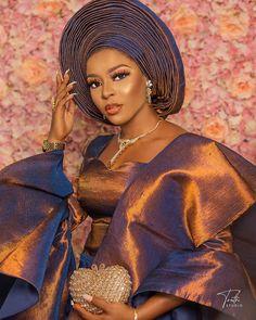 This our we glow on Saturday African Lace, African Women, Yoruba Wedding, Nigerian Bride, African Beauty, Traditional Wedding, Beautiful Bride, Fashion Models, Aso Ebi