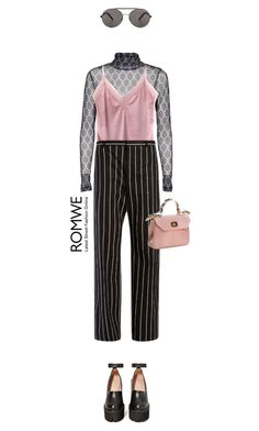 """""""Romwe velvet top"""" by cattrina-k ❤ liked on Polyvore featuring Jeffrey Campbell, Balenciaga and Seafolly"""