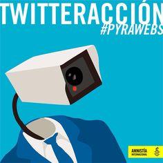 Sumate a nuestra twitteracción y pedí a los senadores/as que respeten nuestro derecho a la privacidad.  Ingresá a nuestra twitteracción aquí: http://amnesty.org.py/actua/tuiteracciones/pyrawebs