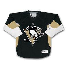2c6c5092678 Pittsburgh Penguins Reebok Child Replica (4-6X) Home NHL Hockey Jersey Size  Child