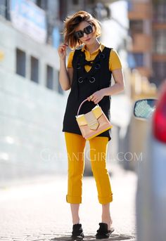 dress with pants trend
