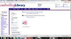 """Bold Flower II Price: $1.00 Size: 1.3""""(w) x 1.04""""(h) (33.0x 26.4mm) Stitches: 1850"""