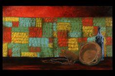Obra sem título 2005 Óleo sobre tela 1,20 x 0,80