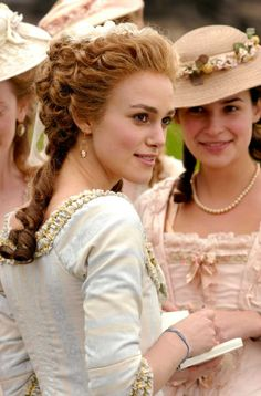 Keira Knightley dans The Duchess. Magnifique !