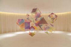 "LIONEL ESTEVE ""A Small Chaos"" 2012  10 volumes of Plexiglass"