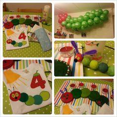 Unser Raupe Nimmersatt Geburtstag