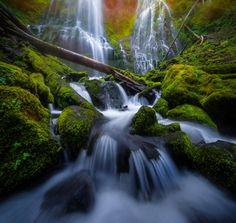 Proxy Falls by Harsha Jayawardena on 500px