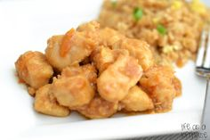 Low fat orange chicken...I'm willing to bet that these would freeze well and would be great for a throw-together dinner!