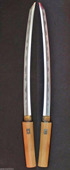 Antique Koto 16th Century Japanese Sword Samurai Wakizashi Katana in Shirasaya | eBay