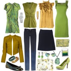 Capsule wardrobe, created by sarahsaurus on Polyvore