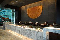 DESIGNWILKES Mandarin Oriental Oriental Restaurant, Restaurant Lounge, Bar Lounge, Chinese Restaurant, Restaurant Design, Bakery Cafe, Cafe Bar, Sushi Buffet, Patisserie Design