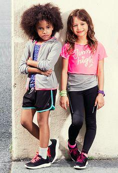 #ropadeportiva #modaniña #hmniños #sportygirls #pequeñafashionista #sportswear…