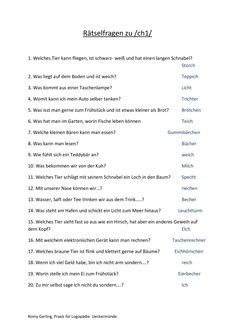 Puzzle questions about / / – articulation - Kinderbetreuung Occupational Therapist, Puzzle, Kindergarten, This Or That Questions, Blog, Fitness, Quiz Questions For Kids, Deutsch, Gymnastics