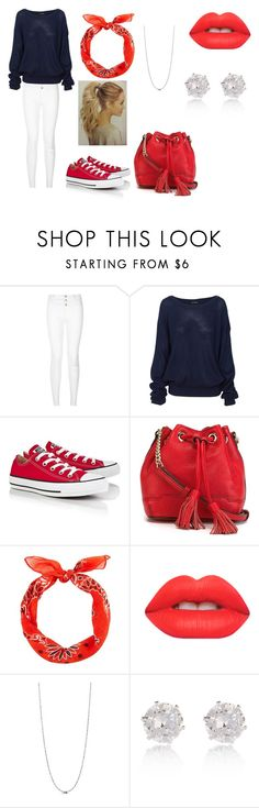 """Outfit #6"" by taylor-ross115 on Polyvore featuring Converse, Rebecca Minkoff, Lime Crime, BERRICLE and River Island"