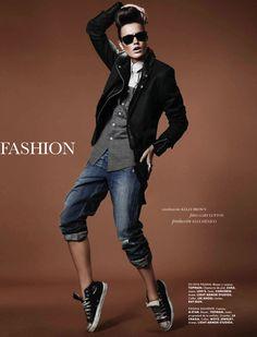"""Fashion Rocks"" Keilani Asmus By Gary Lupton For Elle Mexico February 2013"