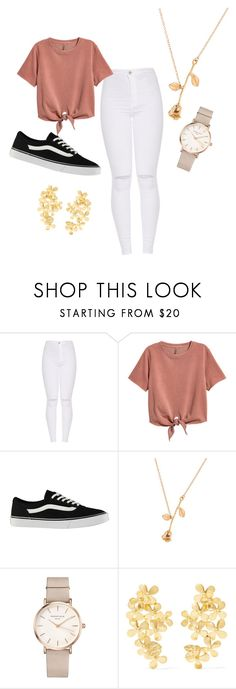 """""""Untitled #4"""" by odetteganem-1 on Polyvore featuring H&M, Vans, ROSEFIELD and Pippa Small"""