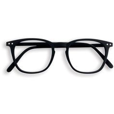 Black square frame reading glasses ($37) ❤ liked on Polyvore featuring accessories, eyewear, eyeglasses, glasses, sunglasses, jewelry, reading eye glasses, square frame glasses, square frame eyeglasses and matte glasses