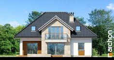Projekt domu Dom w kalateach 6 (T) - ARCHON+ Home Fashion, Teak, Cabin, Mansions, House Styles, Home Decor, Mansion Houses, Homemade Home Decor, Villas