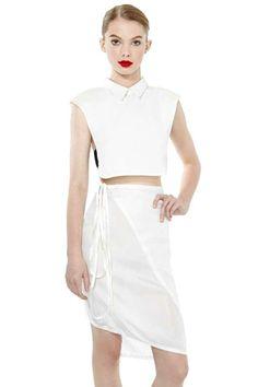 Ann Demeulemeester Wrap Skirt