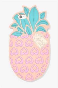 We love how fun this pineapple shaped phone case is. You'll always be able to find your phone n your bag with a case like this one.