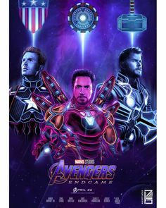 Iron Man, Captain America & Thor, Avengers: End Game Marvel Vs Dc Comics, Marvel Avengers Assemble, Avengers Art, Marvel Films, Marvel Fan, Marvel Heroes, Marvel Characters, Avengers Team, Marvel Universe