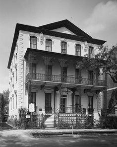 John Rutledge House ~ 1763 ~ Charleston, South Carolina. One of South Carolina's…
