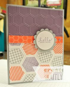 Create with Kaitlyn: More Hexagons! | Six-Sided Sampler, Epic Day Washi Tape