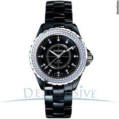 Chanel J12 Diamond Automatic Ceramic Watch - H2014