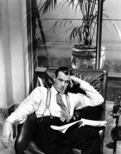 Gary Cooper photographed in 1931