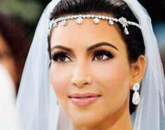 kimmy K had the best makeup for her wedding, IN LOVE