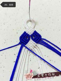 斜卷结手链教程(转载) 第20步 Crochet Necklace, Jewelry, Jewlery, Jewerly, Schmuck, Jewels, Jewelery, Fine Jewelry, Jewel