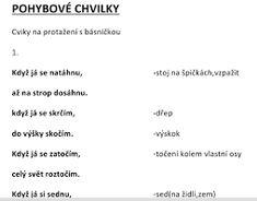 Výsledek obrázku pro básničky s pohybem zima School, Google