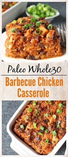 Paleo Barbecue Chicken Casserole- healthy delicious and pure comfort food! gluten free dairy free and so flavorful! Paleo Barbecue Chicken Casserole- healthy delicious and pure comfort food! gluten free dairy free and so flavorful! Whole 30 Diet, Paleo Whole 30, Whole 30 Recipes, Whole Food Recipes, Diet Recipes, Cooking Recipes, Healthy Recipes, Casseroles Healthy, Paleo Food
