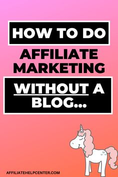 Can you do affiliate marketing without a blog? Absolutely! Here are 8x ways to do affiliate marketing, where a blog (or website) is not required... #AffiliateMarketingWithoutABlog Amazon Affiliate Marketing, Email Marketing Services, Solo Ads, Earn Money, Website, Learning, Tips, Blog, Earning Money