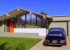 Eichler, Fairmeadow, Orange, 1733 N. Shaffer, Anshen and Allen Architects, 1962 Mid-Century Modern