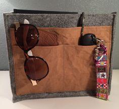 Taschenorganizer, Filz-SnapPap von Kleine Wollbude auf DaWanda.com