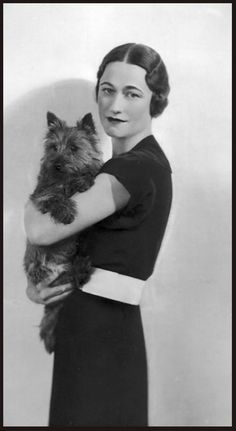 Wallis Simpson she almost collapsed the house of Windsor, she better be chic.